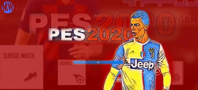 Download PES 2020 Jogress PPSSPP V4.1