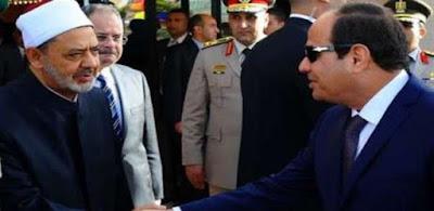 الرئيس عبدالفتاح السيسي وشيخ الأزهر