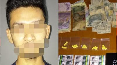 Satuan Reserse narkoba Polres Cilegon, kembali berhasil mengungkap peredaran obat terlarang (daftar G)