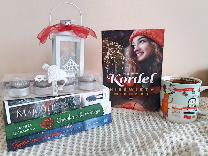 """Wiara, nadzieja, miłość: """"Nieświęty Mikołaj"""" - Magdalena Kordel"""