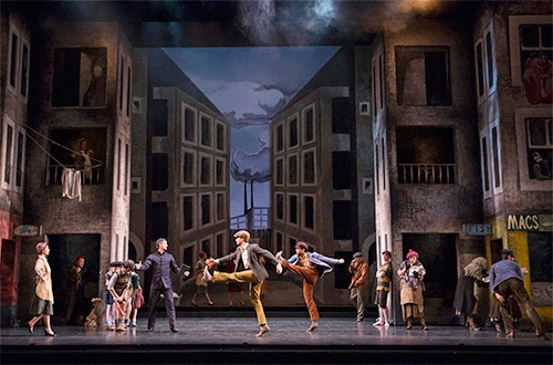 Miracle in the Gorbals - Birmingham Royal Ballet - photo Bill Cooper