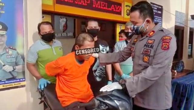 Seorang Pemuda di Jambi Nekat Mencuri Motor untuk Beli Sabu
