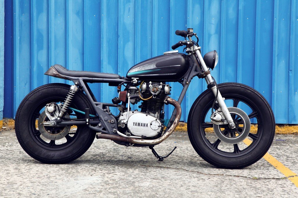 garage46 yamaha xs650 ~ return of the cafe racers