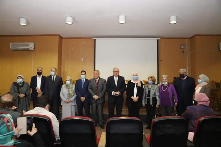 المتيني يفتتح ندوة الوضع السياسي العالمى عام ٢٠٢١ و السياسة الخارجية المصرية بحضور وزير الخارجية الأسبق