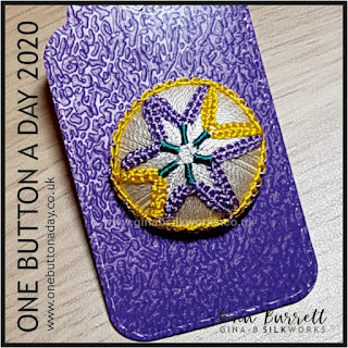One Button a Day 2020 by Gina Barrett - Day 118 : Macaroni