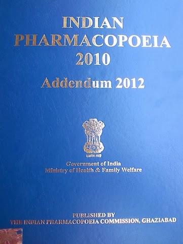 Indian Pharmacopoeia Book Pdf
