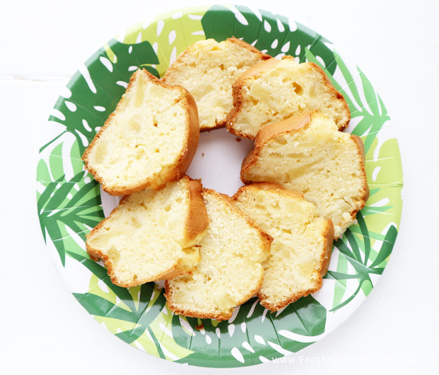 cake met ananas, ananas in een cake, recept cake met ananas, ananas cake, heerlijke cake recept, biais cake recept, cake voor moederdag, makkelijk recept voor cake,