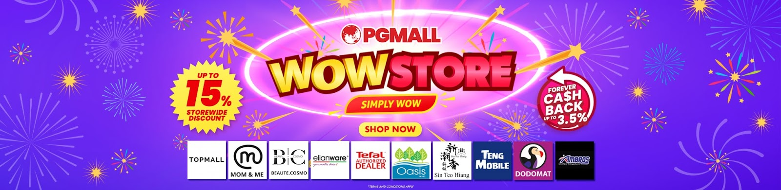 pgmall wowstore shop now