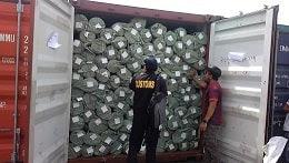Contoh Surat Dokumen Import Barang-Pengeluaran Barang Sebagian dari Kawasan Bea Dan Cukai Indonesia