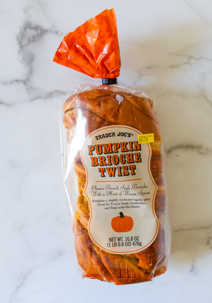 Trader Joe's Pumpkin Brioche Twist Review