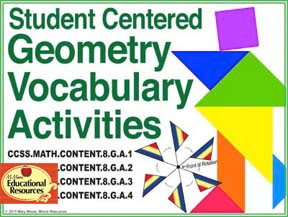 https://www.teacherspayteachers.com/Product/8th-Grade-Math-GEOMETRY-Vocabulary-for-Interactive-Notebooks-Stations-1953288