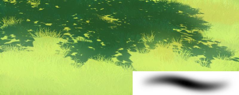 Photoshop Grass Painting Tutorial