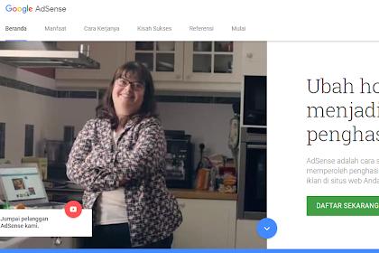 Cara Menghubungkan Situs Ke Program Adsense