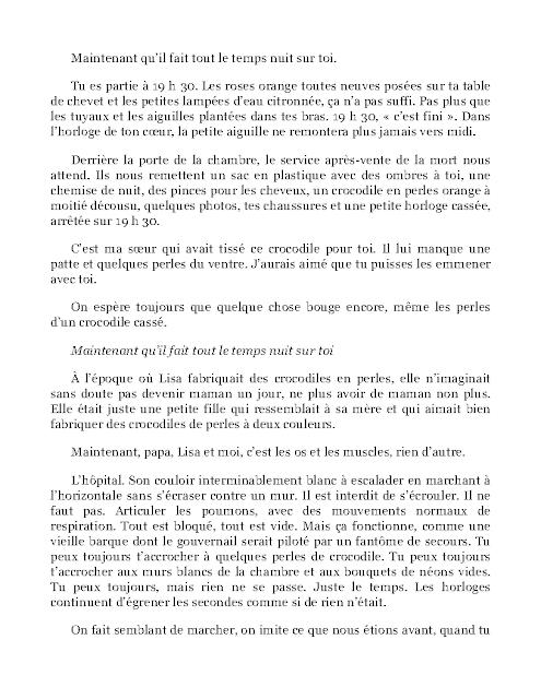 Maintenant Qu'il Fait Tout Le Temps Nuit Sur Toi en PDF