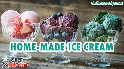 Ice Cream Recipe - How To Make Ice Cream at Home _ chefhomerecipe.com