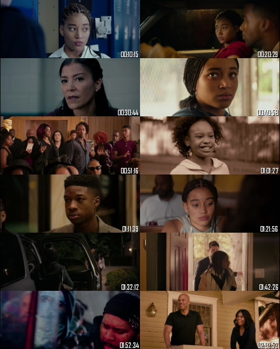 The Hate U Give 2018 BRRip 720p 480p Dual Audio Hindi English Full Movie Download