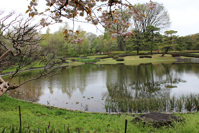 Pond in East Garden, Tokyo Imperial Palace