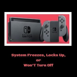 Nintendo Switch Constantly Freezing