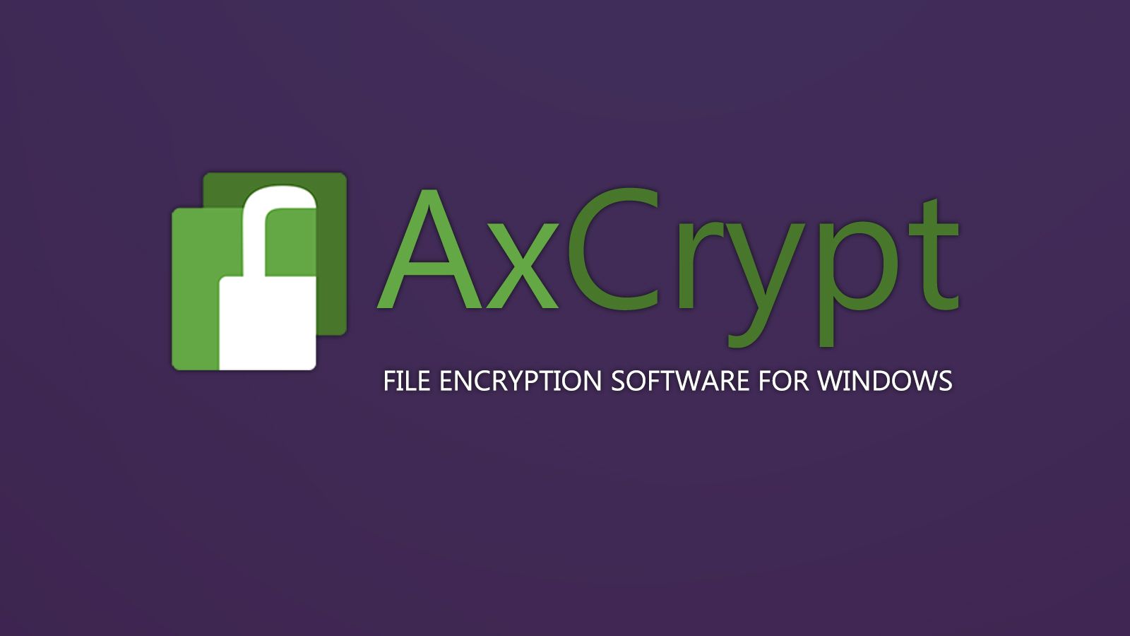 AxCrypt File Encryption Tool For Windows