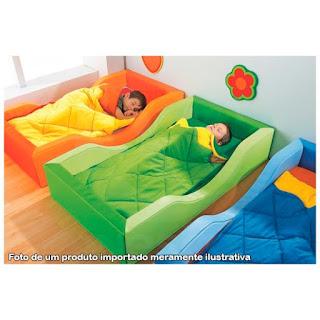 Cama de Espuma para quarto Montessori
