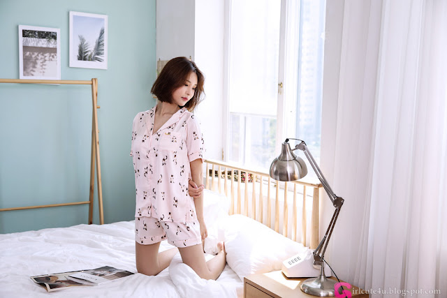 Go Jin Young - Pajama Set - very cute asian girl - girlcute4u.blogspot.com (1)