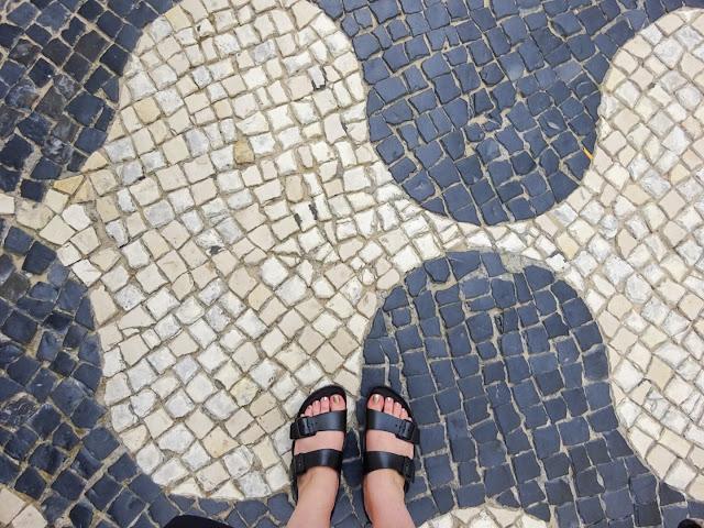 Ornate Tiled Floors in Cascais