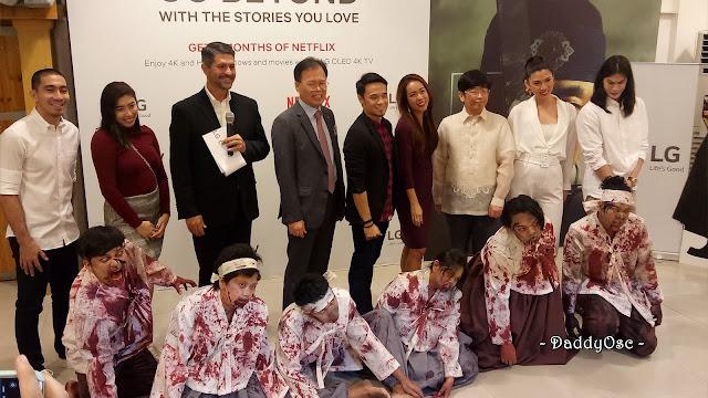 LG Electronics PH celebrates the launch of KINGDOM, A