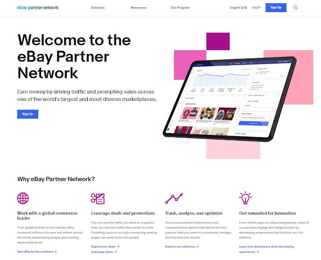 make money with eBay Partners