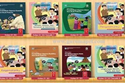 Buku Paket Tahun 2020 Kelas 1 SD Semua Pelajaran