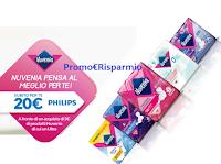 """""""Nuvenia pensa al meglio per te!"""" e ti regala un buono sconto Philips da 20 euro come premio certo"""