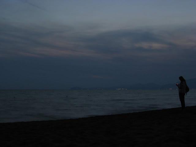 Ora blu sul Golfo di Gaeta