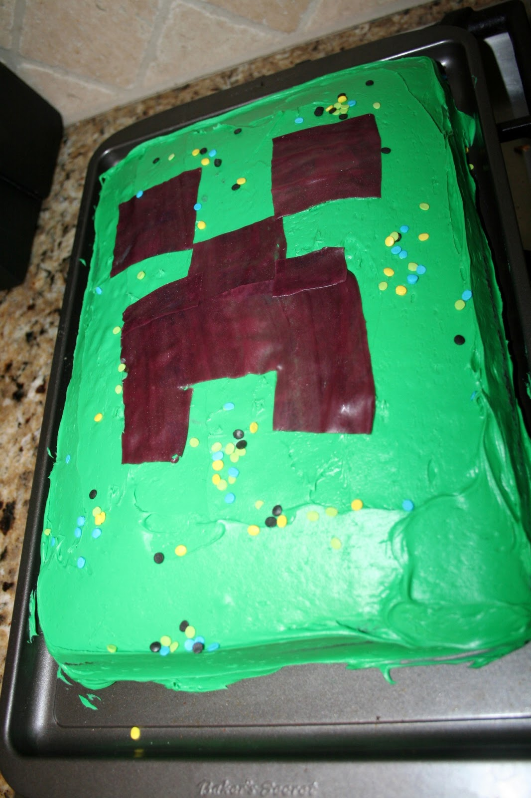 Just The 6 Of Us Minecraft Birthday Party For 8 Year Old Boy