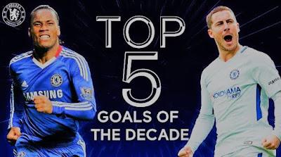 أعلى 5 أهداف لـ تشيلسي في العقد الأخير