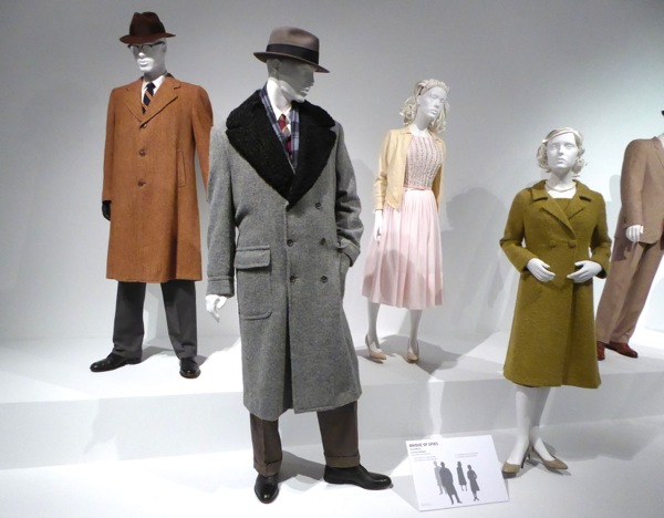Bridge of Spies movie costume exhibit