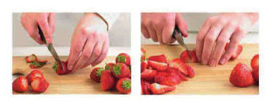 Preparing Strawberries