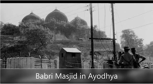 Babri Masjid was a mosque in Ayodhya built by Mughal Emperor Babur in 1528-29 AD