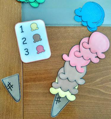 Φτιάξε το παγωτό σου (Εκτυπώσιμο παιχνίδι)