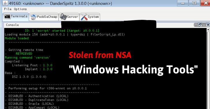 windows hacked shadow brokers