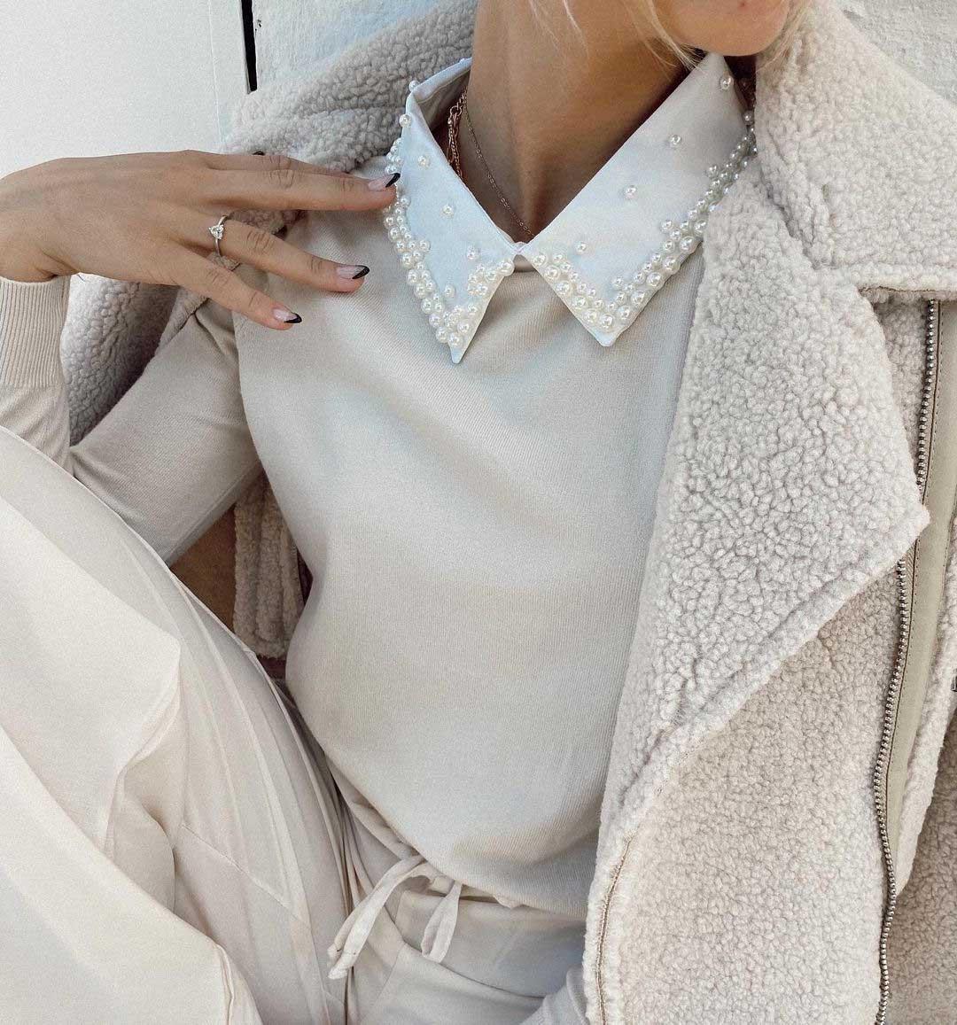 camperas de corderito moda invierno 2021