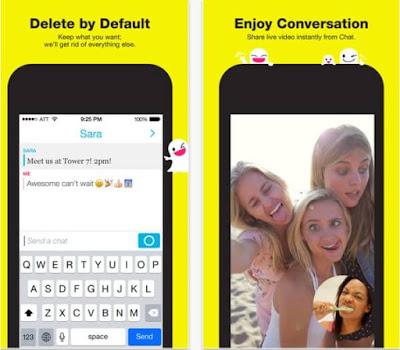 تحميل برنامج سناب شات للايفون Snapchat Iphone