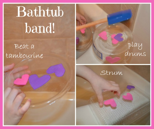 bathtub band: Valentine's Day edition