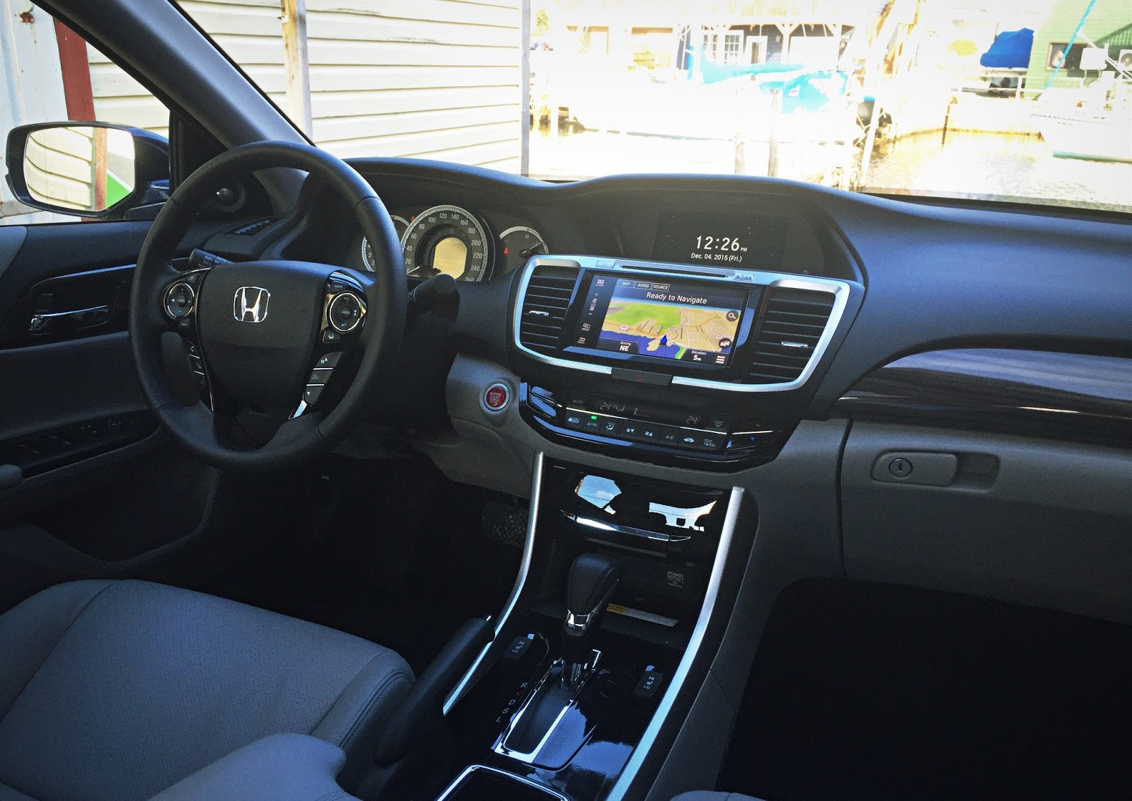 2016 Honda Accord Touring Interior