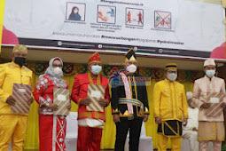 Amirudin Tamoreka dan Furqanudin Masulili Rayakan HUT  ke 61 Kabupaten Banggai