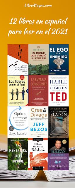 12 libros en español que harán de tu 2021 un mejor año