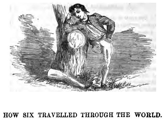How Six Men Got on in the World - a fairy tale by Grimm Brothers