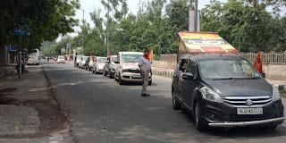 car-rally-for-ayodhya-ram-mandir