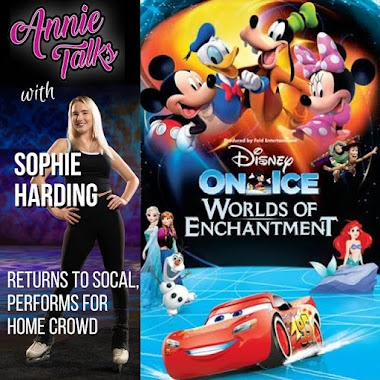 Annie Talks with Disney On Ice Skater Sophie Harding