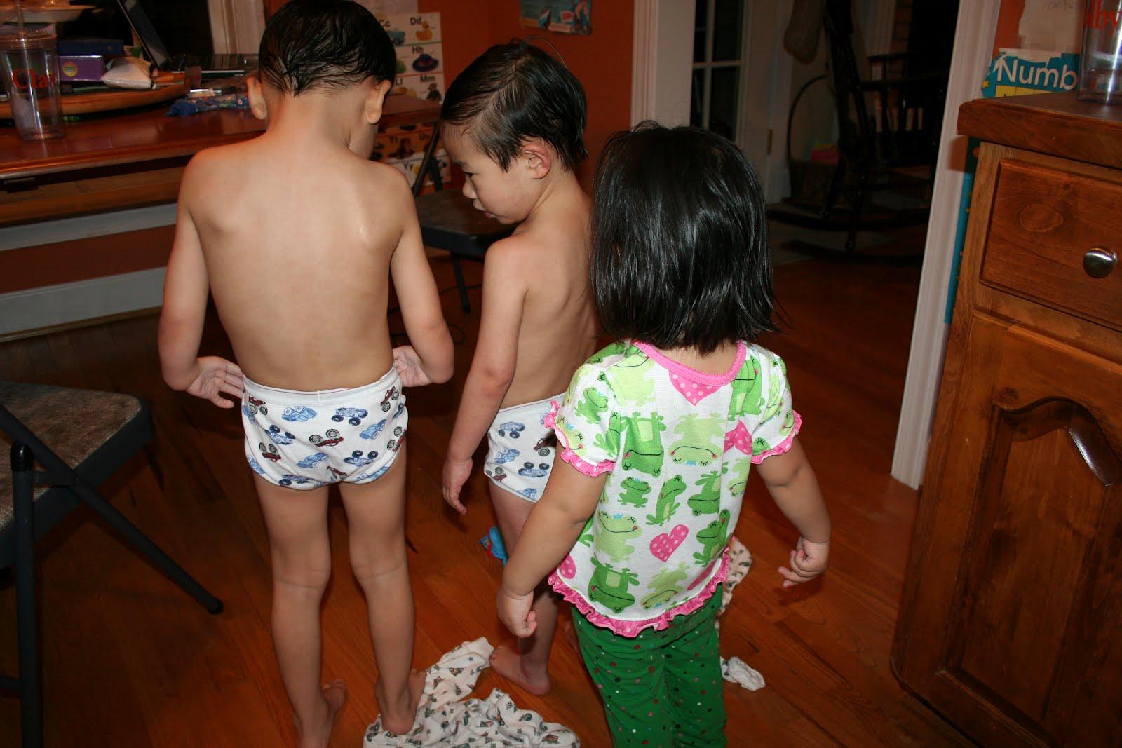Cute Boys In Their Underwear