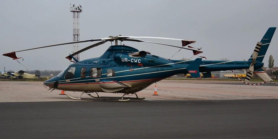 Укрзалізниця вирішила продати гелікоптер Bell 430