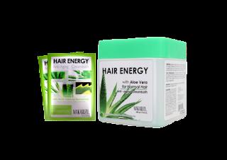 cara merawat rambut rusak dengan hair energy creambath aloe vera